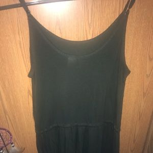 H&M dark green romper